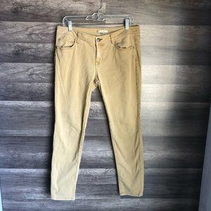 Cabi Khaki Skinny Jeans Sz8